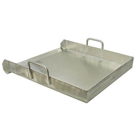 Stainless Steel Flat Top Griddle Grill Plancha SINGLE STOVE