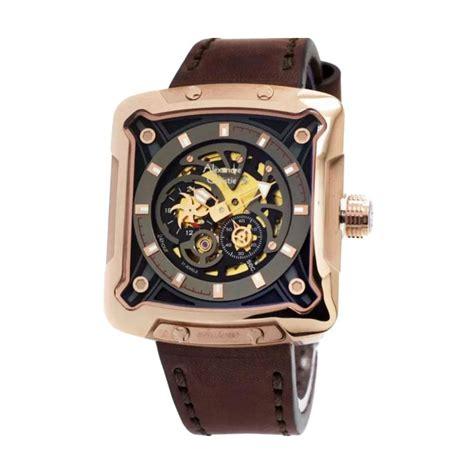 jual alexandre christie 3030 jam tangan pria rosegold