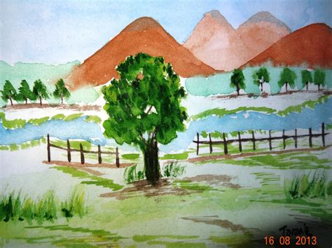 In Drawing And Painting