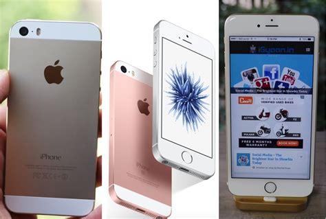 iphone se vs iphone 5s vs iphone 6s comparison