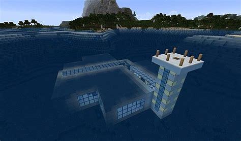 Bedroom Media Furniture underwater house 1 7 10 minecraft project