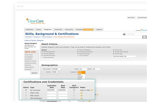 Caregiver Background Check Home Care Human Resources Hr Software Clearcare