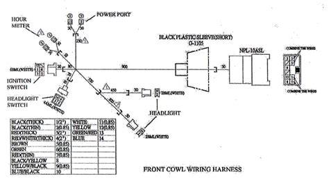 yerf wiring harness repair wiring scheme