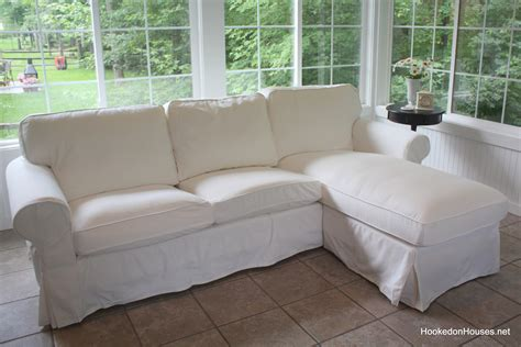 ektorp white sofa finished white sofa hooked on houses