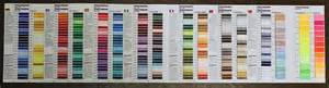 madeira thread color chart madeira color chart polyneon color card polyneon madeira