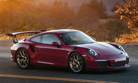porsche gt3 red ruby red porsche 991 gt3 rs gains some hres