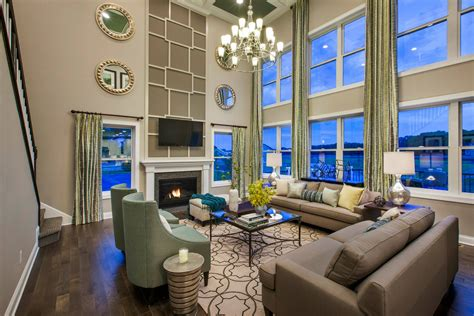 Two Story Living Room Decorating Ideas by How To Decorate Your Bare Walls Cook