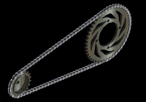jasa desain contoh gambar rantai motor dengan autocad