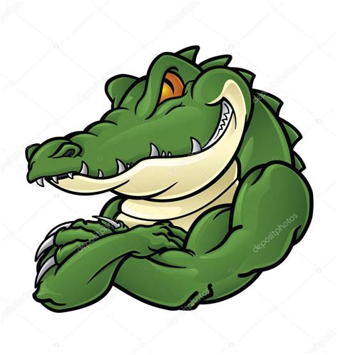 imagenes de vector the crocodile crocodile mascot stock vector 169 indomercy2012 40151537
