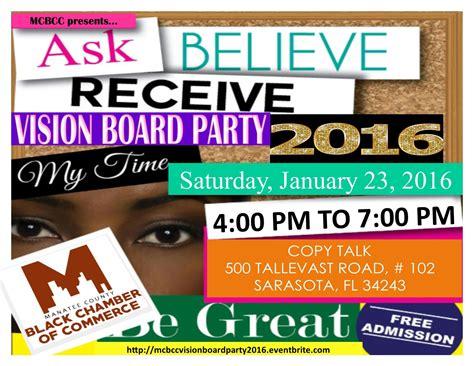 Vision Board Party Invitations Vision Board Invitation Template