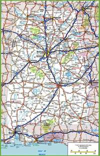 alabama road map