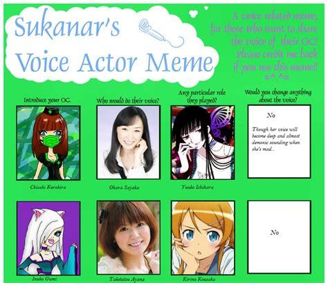 Meme Voice - voice actor meme by chocolatechippies on deviantart