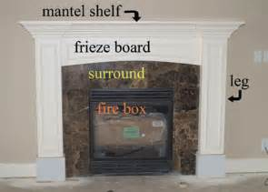 Bookcase Trim Molding How To Build A Fireplace Mantel