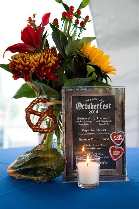 Oktoberfest centerpiece   Centerpiece ideas   Pinterest