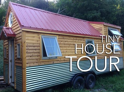 tiny house tours little foot tiny house tour youtube