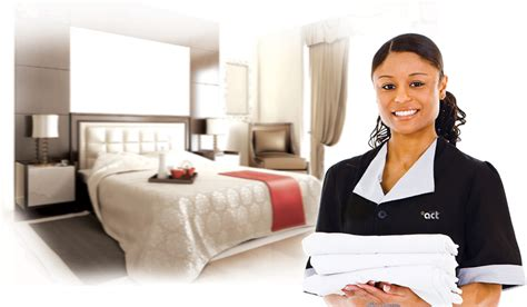 house keeping room attendants with the correct hotel is benchmark in