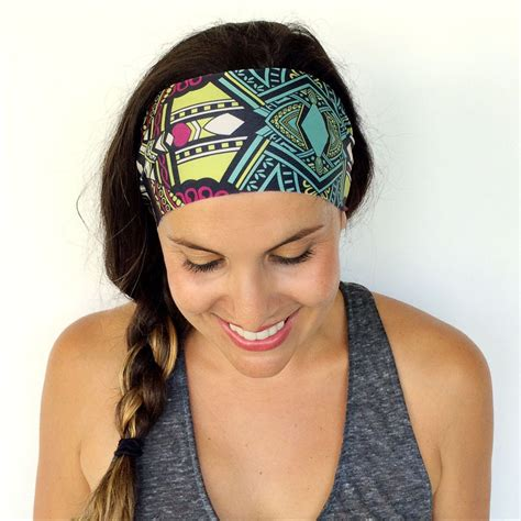 Wide Hairband 1pc fashion s wide sports headband stretch