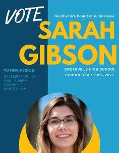 Student Council Election Flyer Template