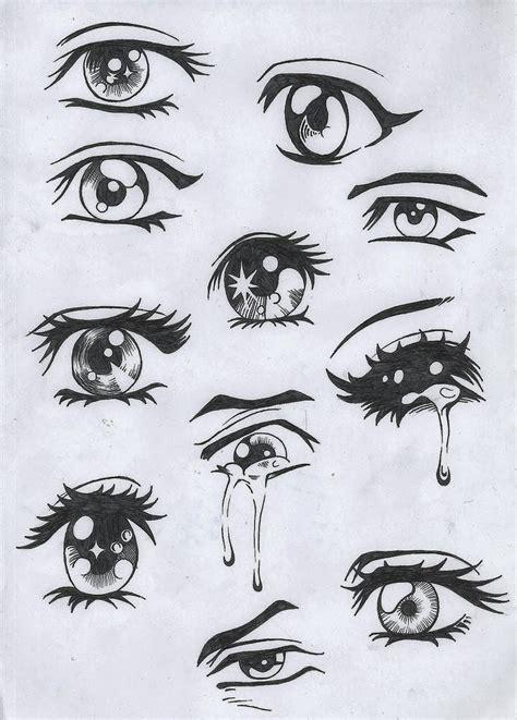 imagenes de ojos q lloran 191 quieres aprender a dibujar ojos al estilo del manga