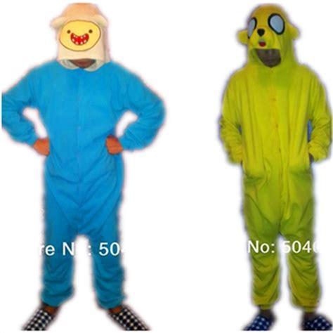 Finn Adventure Time Onesie adventure time finn jake onesies pajamas anime animals yellow costume unisex