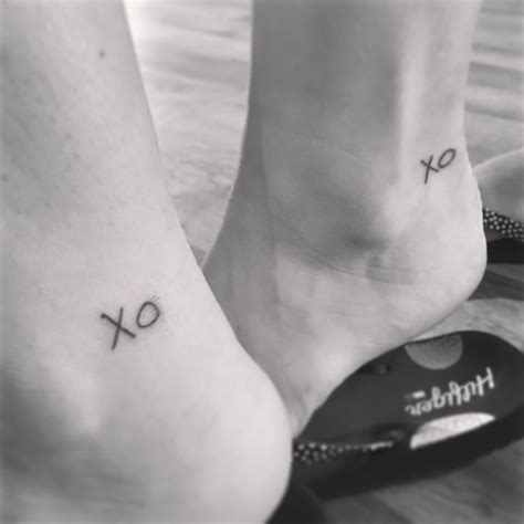xo tattoo ideas best 25 matching cousin tattoos ideas on