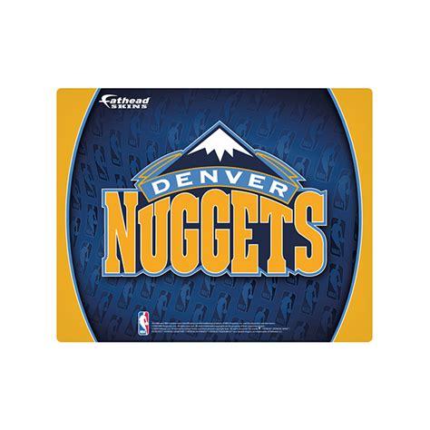 15 16 quot laptop skin denver nuggets logo shop fathead 174 for denver nuggets device skins - Denver Nuggets Giveaways