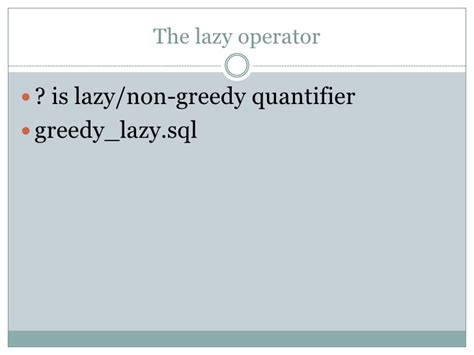 java pattern greedy quantifiers regular expressions in oracle