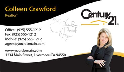 century 21 business card template century 21 business cards 1000 business cards 69 99