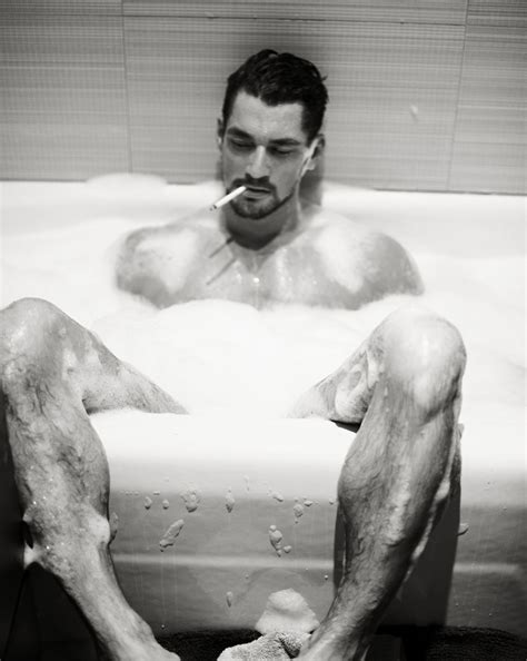 guys in bathtubs art opology david gandy naked for m vivanco