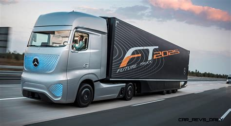 future mercedes truck mercedes benz ft2025 is new daimler trucks flagship