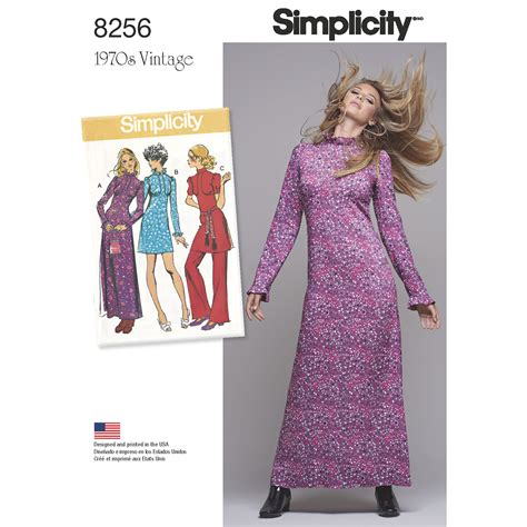 sewing pattern review forum simplicity simplicity pattern 8256 misses vintage 1970 s