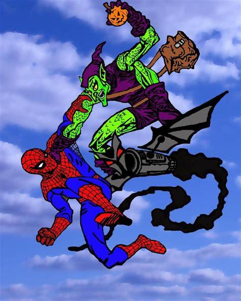 spiderman vs goblin film ita green goblin vs spider man by currythecat on deviantart