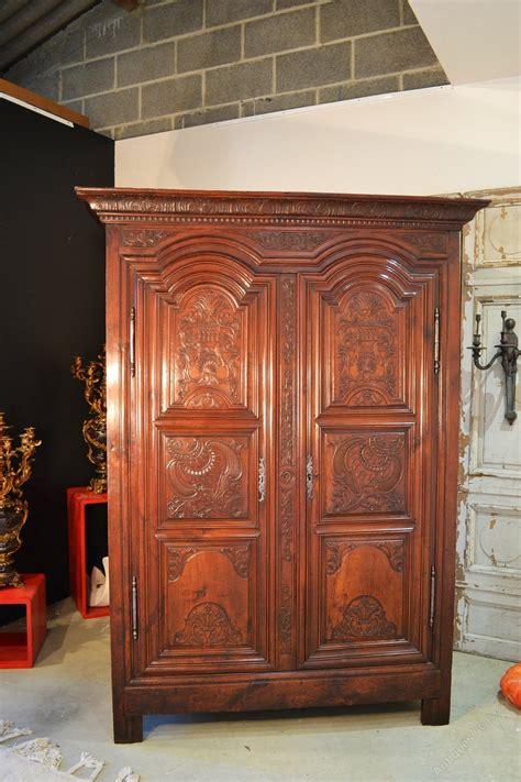 cherry armoire wardrobe french armoire wardrobe rennaise in cherry antiques atlas