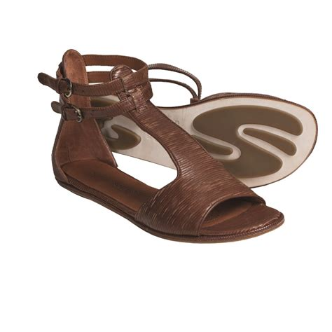 sandals for gentle souls bistro leather sandals for save 49