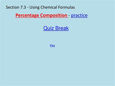 chemical formulas and chemical compounds section 2 ppt chapter 7 chemical formulas and chemical compounds