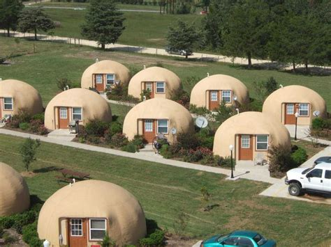 amazing dome cottages in toretore village sirahama a successful rental complex while attending a monolithic