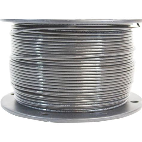 southwire 500 ft 14 black stranded cu thhn wire 22955958