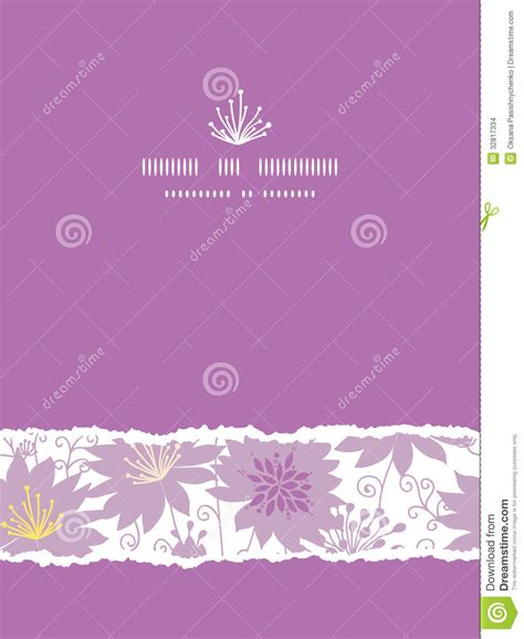 hd purple shadow florals seamless pattern background purple shadow florals vertical torn seamless stock images