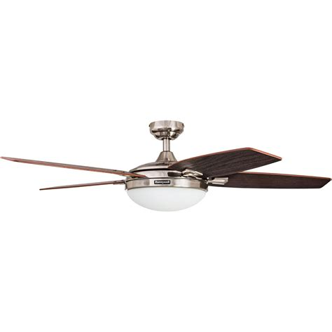 honeywell ceiling fan brushed nickel finish 48