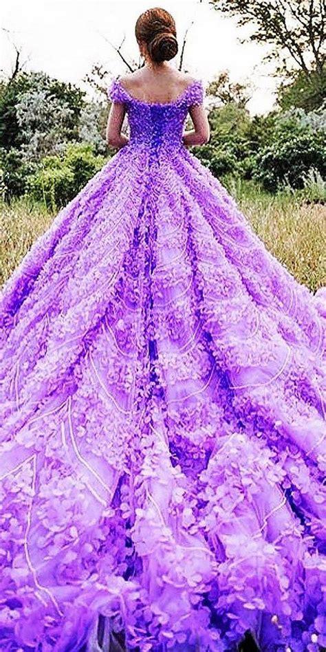 Wedding Dresses Purple by Best Purple Wedding Dress Colors Ideas On Purple