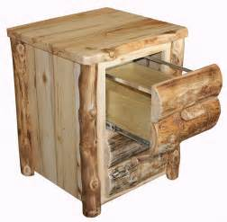 Rustic File Cabinet Amish Rustic File Cabinet