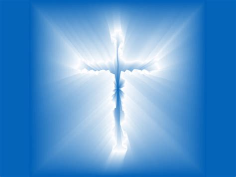 Christian Graphic Blue Cross Wallpaper Christian Free Christian Background Images