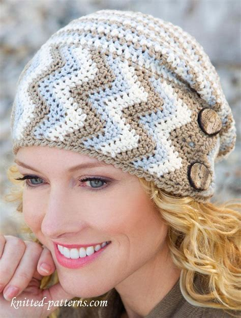 crochet ideas for women on pintrest women s hat crochet pattern free be warm pinterest