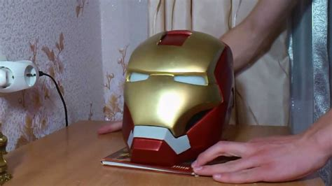 How To Make Iron Suit Out Of Paper - iron helmet look process