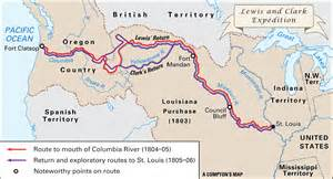 Lewis And Clark Route Map by Journals Of The Lewis And Clark Expedition 2016 Car