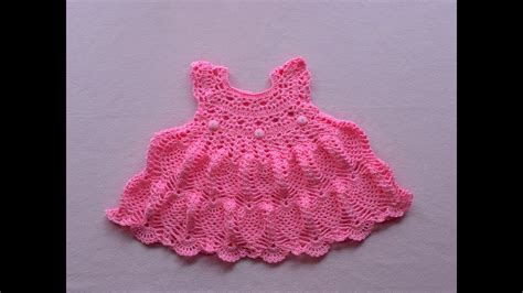 crochet baby dress pattern youtube crochet baby dress tutorial pinky pie crochet baby dress
