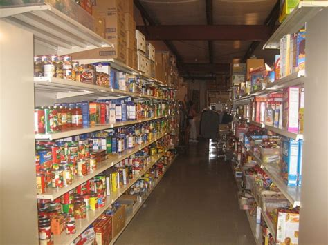 Plainville Food Pantry by Dinner At Holy Family