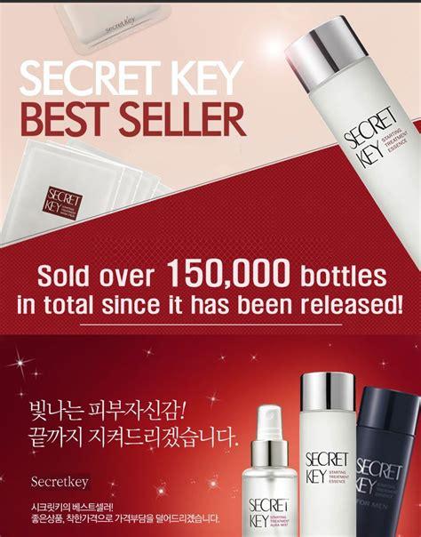 Secretkey Starting Treatment 30ml travel combo set secret key starting treatment essence 30ml rich balm moisturiser 10g