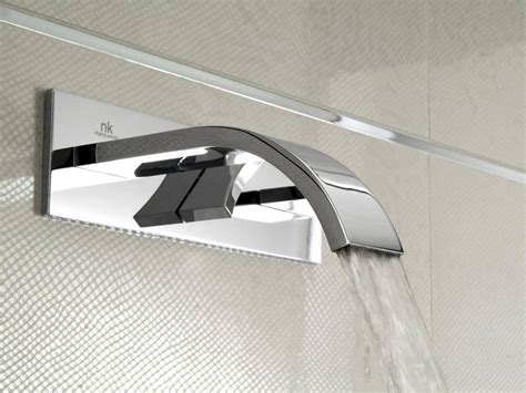 Designer Kitchen Taps by Porcelanosa Noken Imagine Wall Mounted Basin Mixer Tap