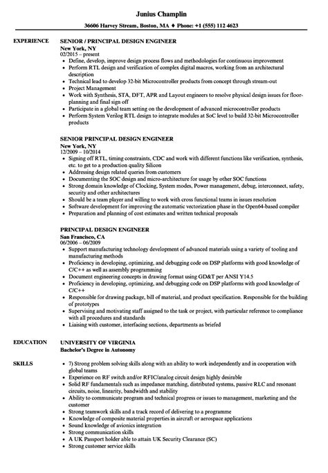 Principal Mechanical Engineer Cover Letter by Principal Mechanical Engineer Sle Resume Buffet Attendant Cover Letter